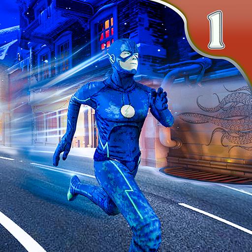 super-herói flash vs crime mafia cidade de vegas
