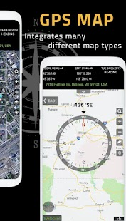 Kompass App: intelligenter Kompass für Android Screenshot