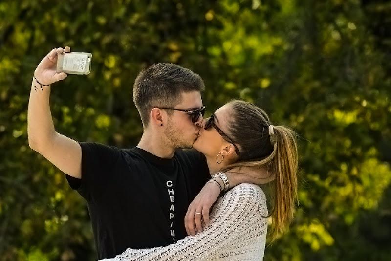 Selfie di acquario