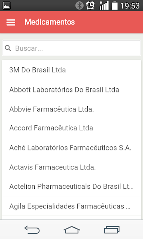android Bulas de Medicamentos Screenshot 4