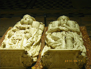 Photo: Gisants du Cid et de Dona Jimena