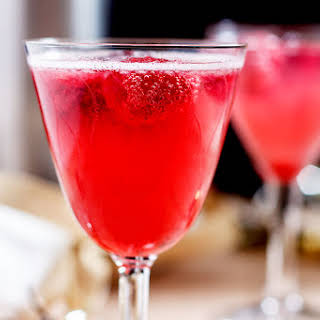 Raspberry Champagne Cocktail Recipes.