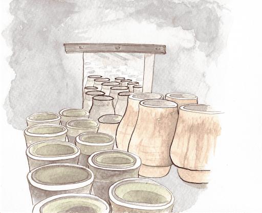 stockage des moules