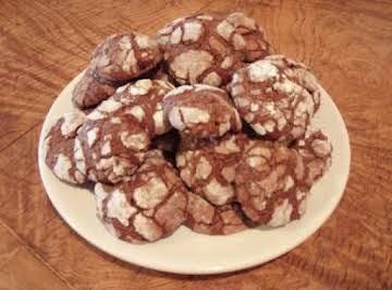 Cherry Chocolate Crinkles