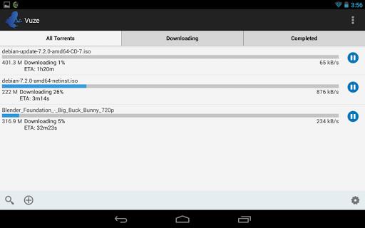 Vuze Torrent Downloader 2.1 screenshots 5