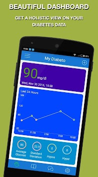Download Diabeto Diabetes Logbook APK latest version app for android