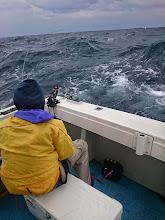 Photo: 釣りにくい! 波、風、強い!
