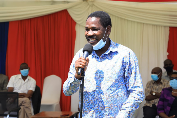 Agriculture CS Peter Munya in Machakos