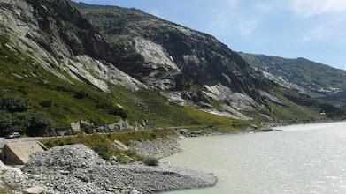 Photo: Grimselút a Ratterischbodensee bal partján