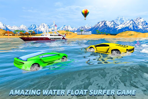 Water Surfer Floating Car 1.3 screenshots 1