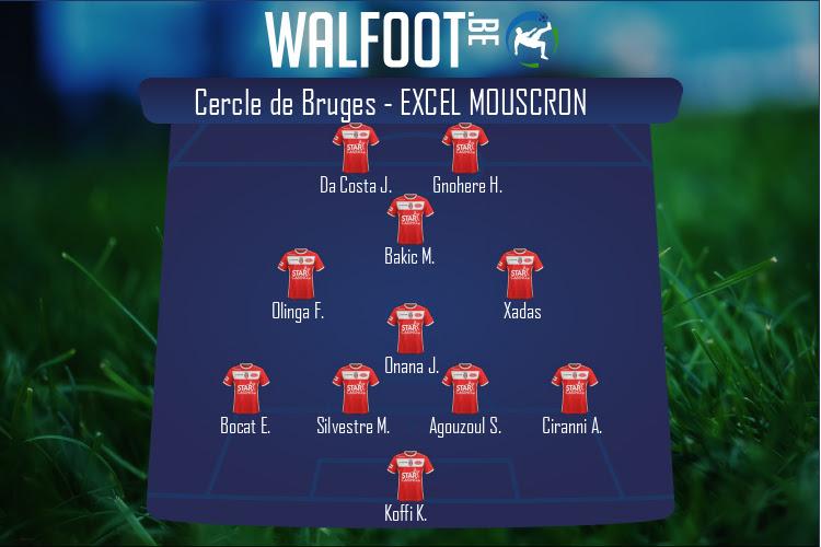 Excel Mouscron (Cercle de Bruges - Excel Mouscron)
