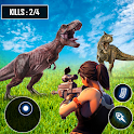 Wild Dinosaur Hunter 2020- Dinosaur Shooting Games icon