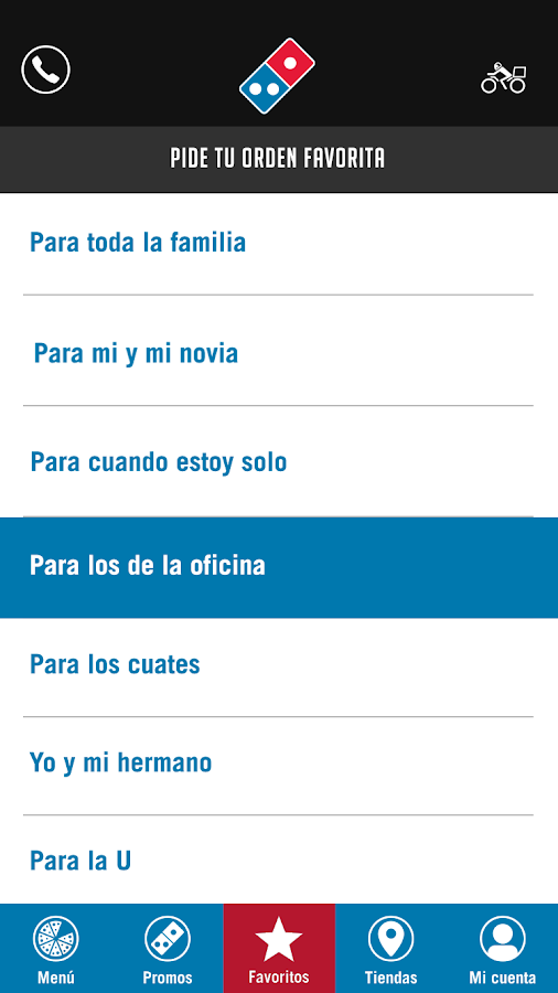 Domino's Pizza Guatemala- screenshot