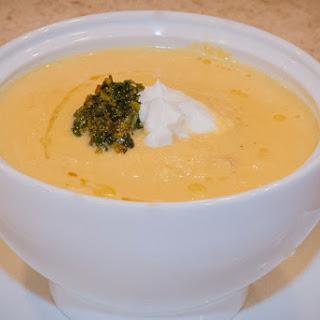 Corn Cashew and Carrot Chowder