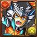 白光炎隼神のアーマーX龍喚士・エース