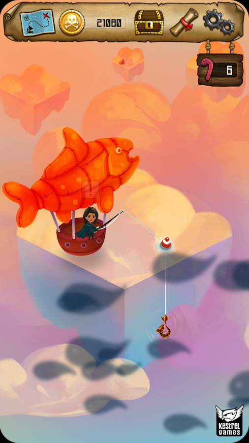 Rule with an Iron Fish: A Pirate Fishing RPG- screenshot