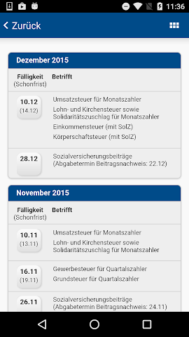 android Landwehr Steuerberater Screenshot 3