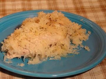 Sauerkraut And Pork For New Years Day Recipe