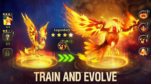 Idle Arena: Evolution Legends apktreat screenshots 2