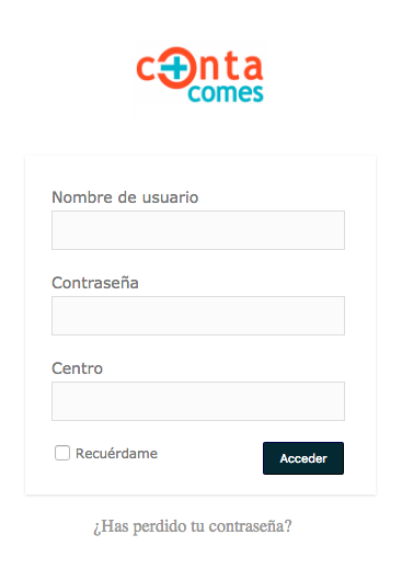 CONTACOMES- screenshot