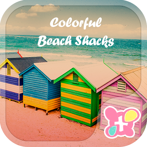 Theme-Colorful Beach Shacks- Icon