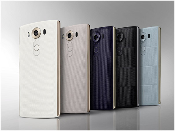 Mặt sau và hệ thống Camera - nút home cảm ứng vân tay của LG V10