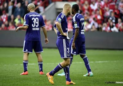 """""""Er stonden alleen maar verdedigers op het veld bij Anderlecht"""""""