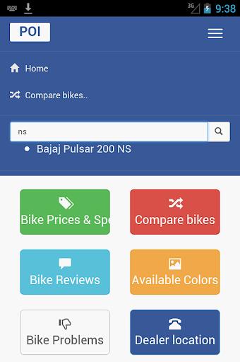 India Bikes : Price App : Reviews Colors Problems 30.0 screenshots 2