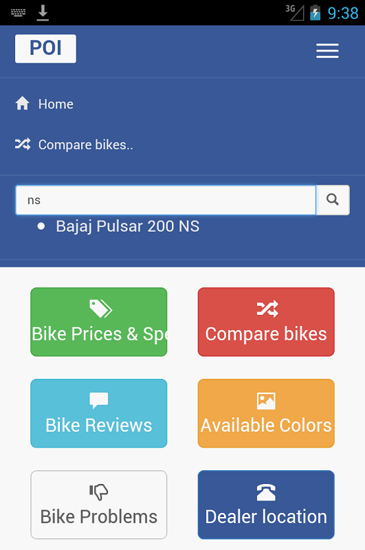 India Bikes Price Specs Android Apps On Google Play