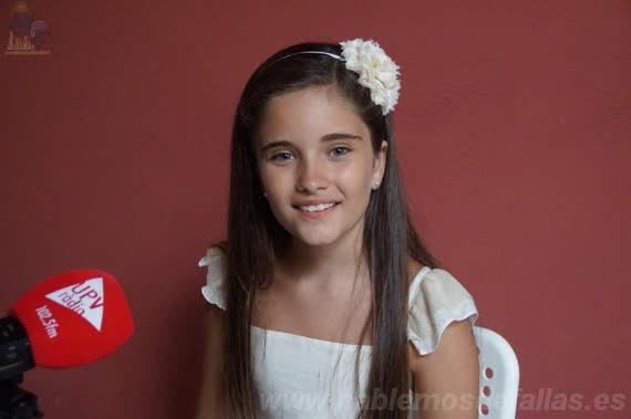 Entrevistas a Candidatas infantiles a Cortes de Honor. Pla del Remei - Gran Vía. #Elecció19