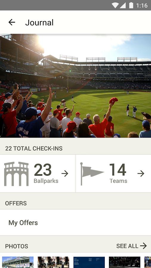 MLB.com Ballpark - screenshot