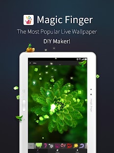 magicfinger live wallpaper diy android apps on google play