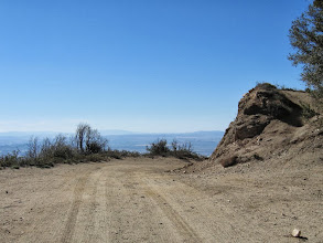 Photo: Elev. 5580' – Junction on south ridge of Sunset Peak, view south toward the route to Culver Peak