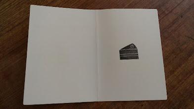 Photo: 二つ折りカード 3 (Happy Birthday)〈中〉
