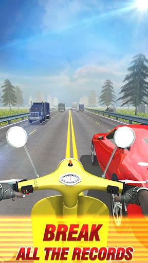 Bike Moto Traffic Racer 1.5 gameplay | by HackJr.Pw 3
