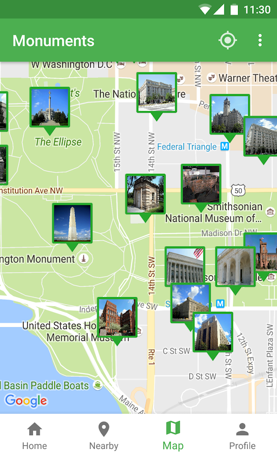 Monuments.guide - Travel Guide- screenshot