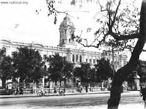 Photo: Rippon building -1913-Ripon building (named after a former Viceroy) is built at a cost of Rs 7,50,000/- by  P. Loganatha Mudaliar. This 252-feet long building, in dazzling white is, the headquarters of the Chennai Corporation today.