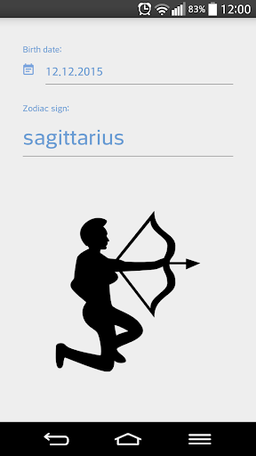 Zodiac sign checker