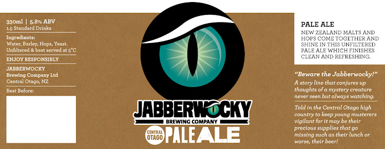 Logo of Wanaka Beerworks Jabberwocky Pale Ale
