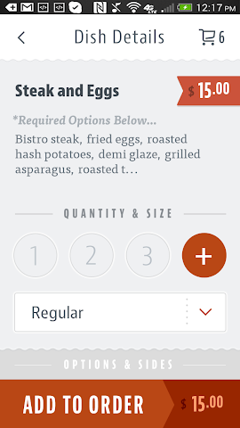 android Five Loaves Cafe Screenshot 3
