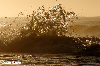 Photo: Waves at Gulf Shores Beach on Monday, October 17,2011