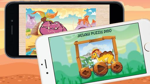 Jigsaw Puzzles Dinosaur t-rex screenshot 1
