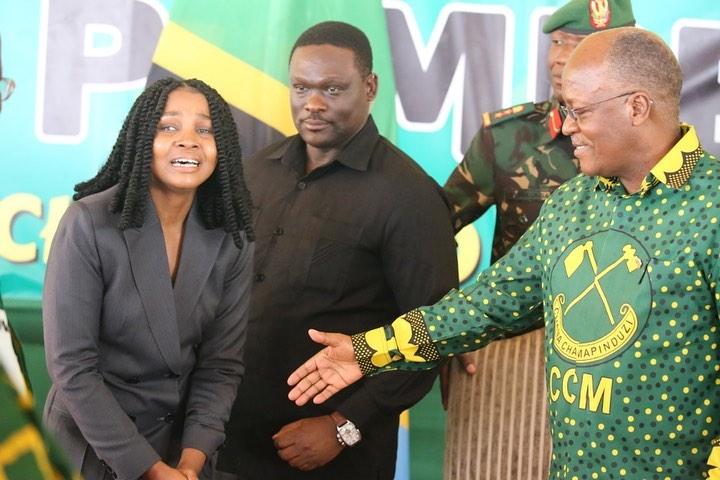Magufuli leaves Zuchu in tears: Dreams do come true, she says