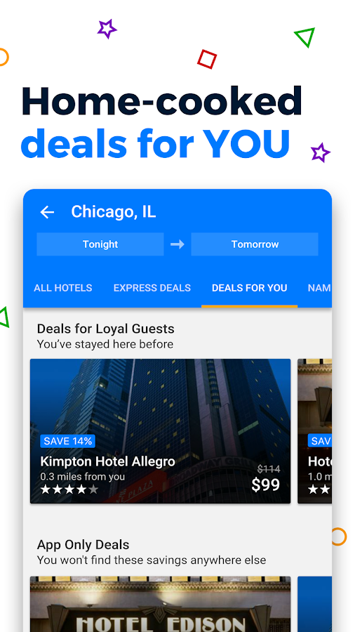 Priceline Hotel Deals, Rental Cars & Flights- screenshot
