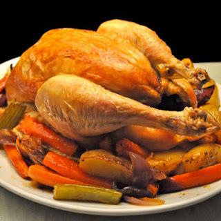 Roast Chicken & Vegetables.