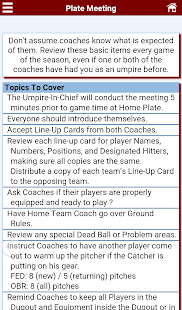 Baseball Umpire Pocket Ref- screenshot thumbnail