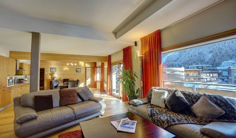 Apartment with terrace Chamonix-Mont-Blanc