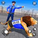Police Lion Chase Simulator icon