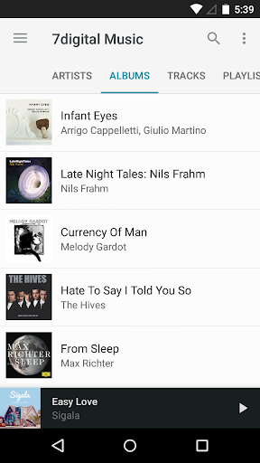 7digital Music Store screenshot 6