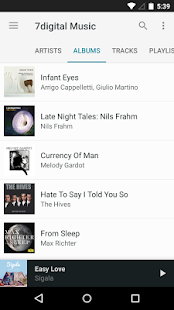 7digital Music Store- screenshot thumbnail